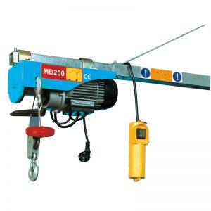 MB200 Mini električna dizalica, električna dizalica
