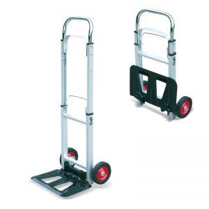 AT90 Prijenosna aluminijska sklopiva kolica za prijevoz teških tereta s vrećama za prijevoz teških tereta